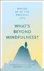 Image for What's beyond mindfulness?  : waking up to this precious life