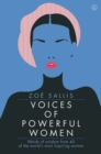 Image for Voices of powerful women  : words of wisdom from 40 of the world's most inspiring women
