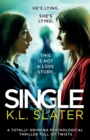 Image for Single : A totally gripping psychological thriller full of twists