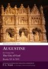 Image for Augustine  : De civitate dei books XV and XVI