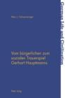 Image for Vom buergerlichen zum sozialen Trauerspiel Gerhart Hauptmanns