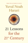 Image for 21 lessons for the 21st century