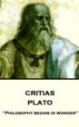 Image for Critias: &quote;philosophy Begins in Wonder&quote;