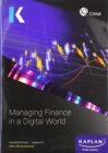 Image for E1 MANAGING FINANCE IN A DIGITAL WORLD - STUDY TEXT