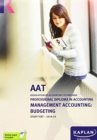 Image for MANAGEMENT ACCOUNTING:BUDGETING - STUDY TEXT