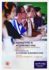Image for ACCOUNTANT IN BUSINESS - STUDY TEXT