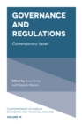 Image for Governance and regulations' contemporary issues