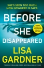Image for Before she disappeared