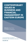 Image for Contemporary issues in business and financial management in Eastern Europe