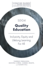 Image for SDG4 - quality education  : inclusivity, equity and lifelong learning for all