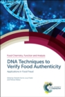 Image for DNA techniques to verify food authenticity: applications in food fraud : 16