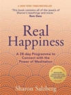 Image for Real happiness  : a 28-day programme to connect with the power of meditation