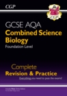 Image for New 9-1 GCSE Combined Science: Biology AQA Foundation Complete Revision & Practice with Online Edn