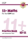 Image for 11+ CEM Maths Practice Book & Assessment Tests - Ages 10-11 (with Online Edition)