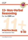 Image for New 11+ CEM Non-Verbal Reasoning Practice Book & Assessment Tests - Ages 9-10 (with Online Edition)