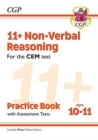 Image for New 11+ CEM Non-Verbal Reasoning Practice Book & Assessment Tests - Ages 10-11 (with Online Edition)
