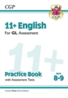 Image for 11+ GL English Practice Book & Assessment Tests - Ages 8-9 (with Online Edition)