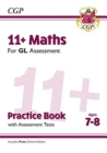 Image for 11+ GL Maths Practice Book & Assessment Tests - Ages 7-8 (with Online Edition)