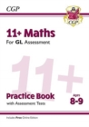 Image for 11+ GL Maths Practice Book & Assessment Tests - Ages 8-9 (with Online Edition)
