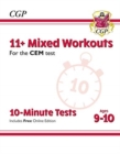 Image for New 11+ CEM 10-Minute Tests: Mixed Workouts - Ages 9-10 (with Online Edition)