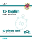 Image for New 11+ GL 10-Minute Tests: English - Ages 10-11 Book 1 (with Online Edition)