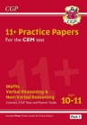 Image for New 11+ CEM Practice Papers: Ages 10-11 - Pack 1 (with Parents' Guide & Online Edition)