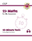 Image for 11+ GL 10-Minute Tests: Maths - Ages 8-9 (with Online Edition)