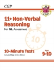 Image for 11+ GL 10-Minute Tests: Non-Verbal Reasoning - Ages 9-10 (with Online Edition)
