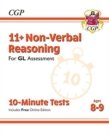 Image for 11+ GL 10-Minute Tests: Non-Verbal Reasoning - Ages 8-9 (with Online Edition)
