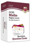 Image for New Grade 9-1 GCSE Maths AQA Revision Question Cards - Higher