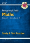 Image for New Functional Skills Maths: Edexcel Entry Level 3 - Study & Test Practice (for 2020 & beyond)