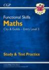 Image for Functional skillsCity & Guilds entry level 3: Maths :