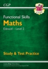 Image for New Functional Skills Maths: Edexcel Level 2 - Study & Test Practice (for 2020 & beyond)
