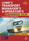 Image for Lowe's transport manager's & operator's handbook 2020
