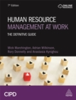Image for Human resource management at work  : the definitive guide