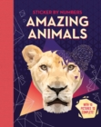 Image for Amazing Animals : Adult Sticker by Numbers