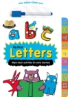 Image for Help with Homework: My First Letters : Wipe-Clean Workbook for 2+ Year-Olds