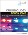 Image for Criminology Book One for the WJEC Level 3 Applied Certificate & Diploma 2021