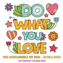 Image for I am Confident Coloring Book (Do What You Love) : 36 Coloring Pages to Boost Confidence in Girls