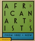 Image for African artists  : from 1882 to now