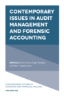 Image for Contemporary issues in audit management and forensic accounting