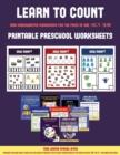 Image for Printable Preschool Worksheets (Learn to Count for Preschoolers) : A Full-Color Counting Workbook for Preschool/Kindergarten Children.