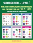 Image for Kindergarten Subtraction Workbook (Kindergarten Subtraction/Taking Away Level 1) : 30 Full Color Preschool/Kindergarten Subtraction Worksheets That Can Assist with Understanding of Math (Includes 8 Ad
