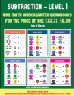 Image for Pre K Math (Kindergarten Subtraction/Taking Away Level 1) : 30 Full Color Preschool/Kindergarten Subtraction Worksheets That Can Assist with Understanding of Math (Includes 8 Additional PDF Books Wort