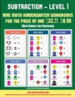 Image for Math Books for Preschool (Kindergarten Subtraction/Taking Away Level 1) : 30 Full Color Preschool/Kindergarten Subtraction Worksheets That Can Assist with Understanding of Math (Includes 8 Additional