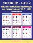 Image for Numbers Workbook (Kindergarten Subtraction/Taking Away Level 2) : 30 Full Color Preschool/Kindergarten Subtraction Worksheets (Includes 8 Printable Kindergarten PDF Books Worth $60.71)