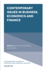 Image for Contemporary Issues in Business, Economics and Finance