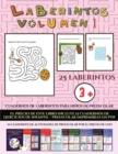 Image for Cuadernos de laberintos para ninos de preescolar (Laberintos - Volumen 1) : (25 fichas imprimibles con laberintos a todo color para ninos de preescolar/infantil)
