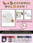 Image for Ejercicios de laberintos (Laberintos - Volumen 1) : (25 fichas imprimibles con laberintos a todo color para ninos de preescolar/infantil)