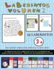 Image for Fichas de preescolar (Laberintos - Volumen 2) : 25 fichas imprimibles con laberintos a todo color para ninos de preescolar/infantil